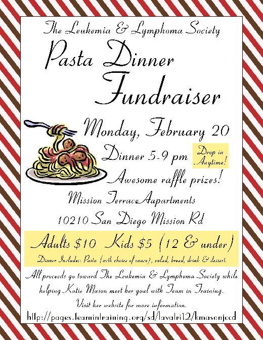 Spaghetti Dinner Flyer Template Word Militaryalicious