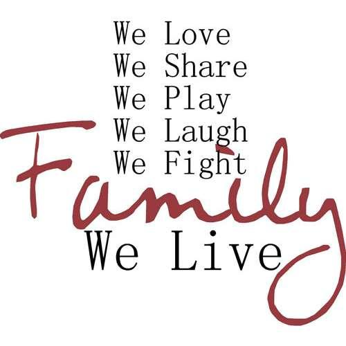 Quotes About Loving Your Family: No Family Quotes. QuotesGram